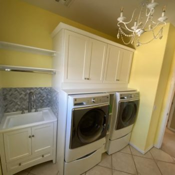 Laundry Room Remodel: Custom Cabinetry
